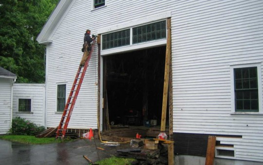 Barn Sill Replacement