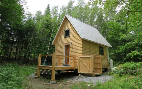 Tiny Timber Frame House