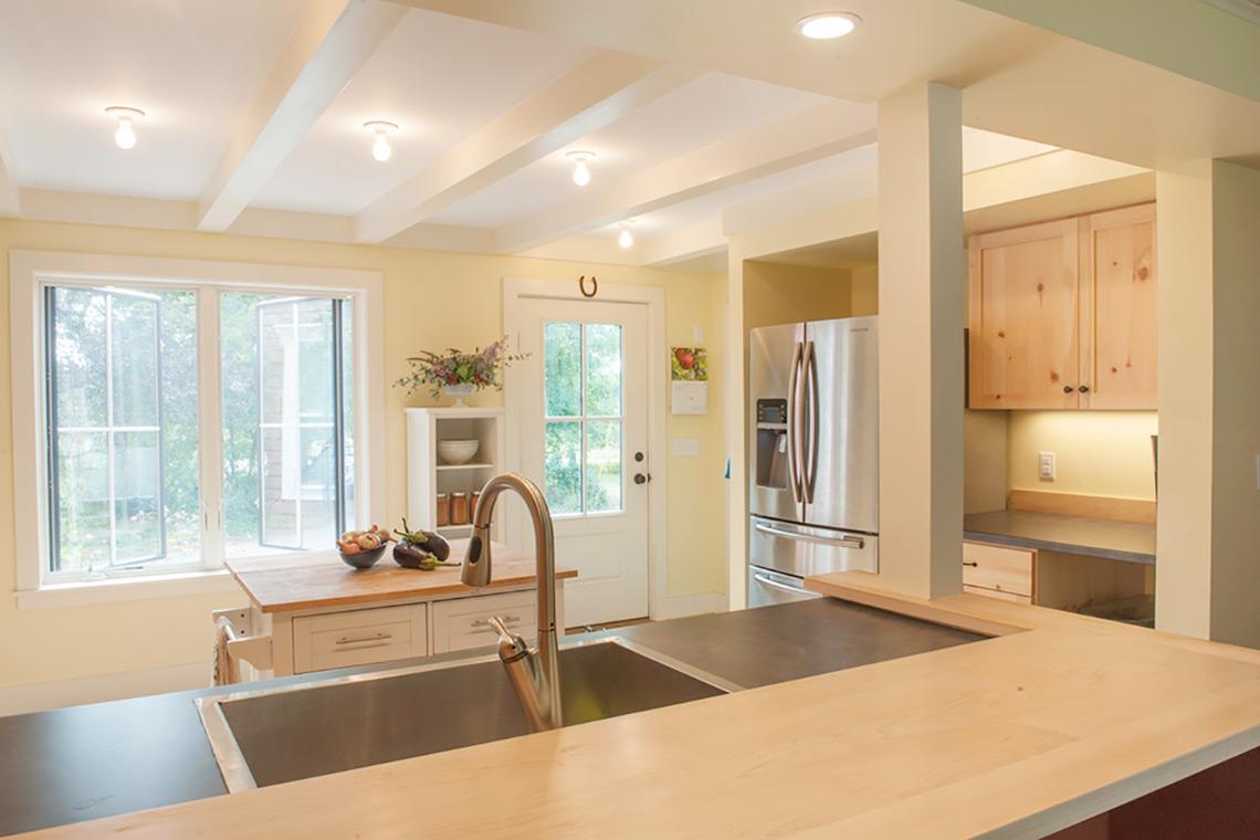 Custom Kitchen Remodel Whitefiled Maine