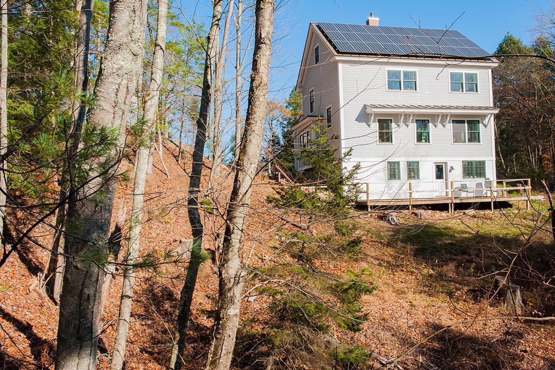 Near Net Zero Custom Home Brunswick Maine