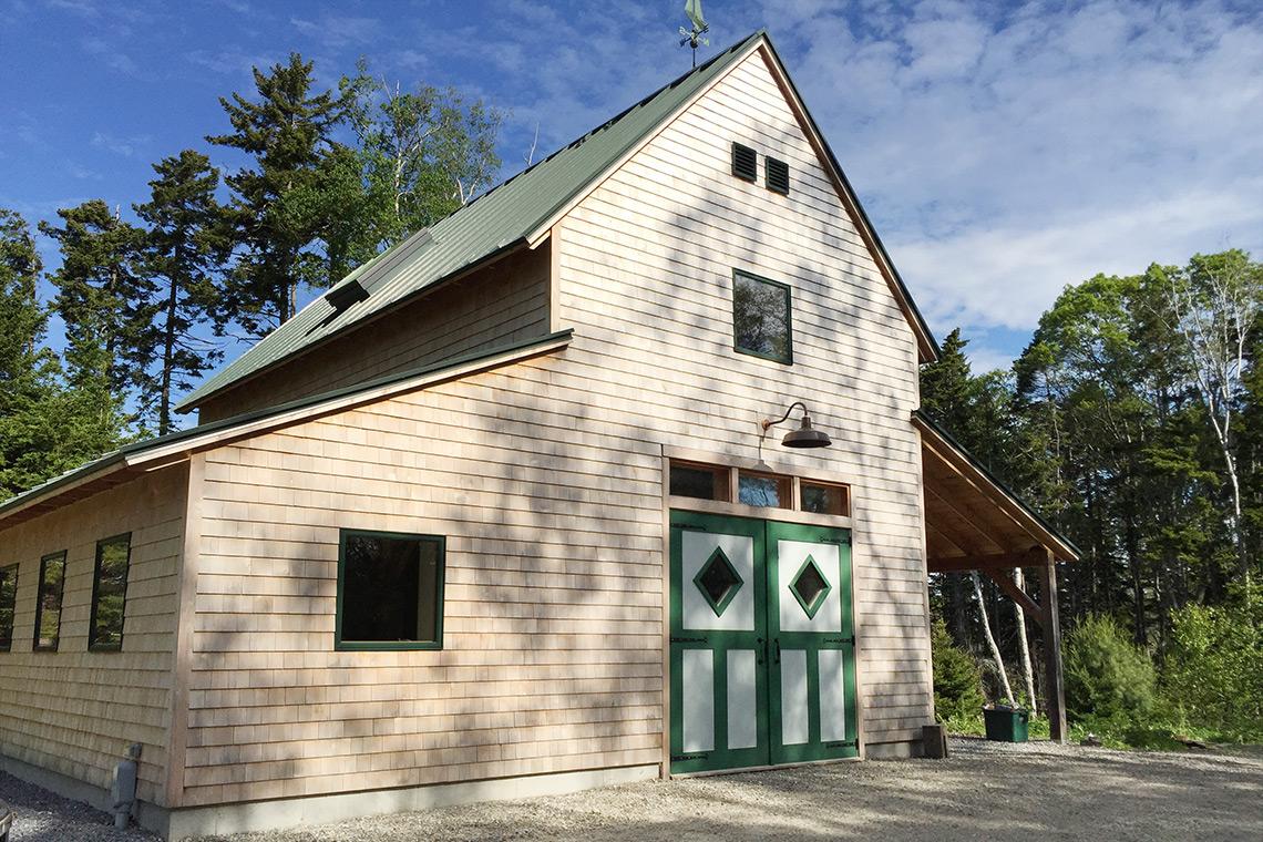 Custom Barn in Harpswell Maine